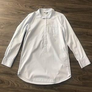 J. Crew Boyfriend Button Up Shirt Size